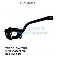 Buy cheap Products:LE01-04003 Wiper switch for V.W. SANTANA from wholesalers