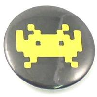Retro Game Badge: YellowStyle Number: RG02-YEL Manufactures