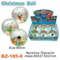 Colorful Beads Bouncing Ball With Christmas Manufactures