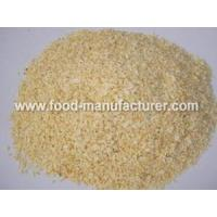 China Freeze Dried Vegetables Powder Freeze Dried Garlic Granules on sale