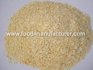 Quality Freeze Dried Vegetables Powder Freeze Dried Garlic Granules for sale
