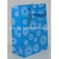 ppbg01 blue paper bag Manufactures