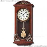 China Chiming Wall Clock,Wood Pendulum Clock on sale
