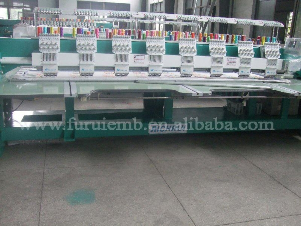 Quality Flat Computerized Embroidery machine(908) for sale