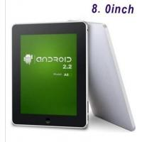 China Tablet PC A801-freescale iMX515 800MHz ARM Cortex A8-8.0inch on sale
