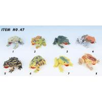 """China Reptife 3""""-3.5""""PVCSQUEAKINGFORESTFROG wholesale"""