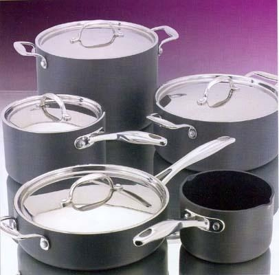 Quality Stellar Hard Anodised Non-Stick Cookware for sale