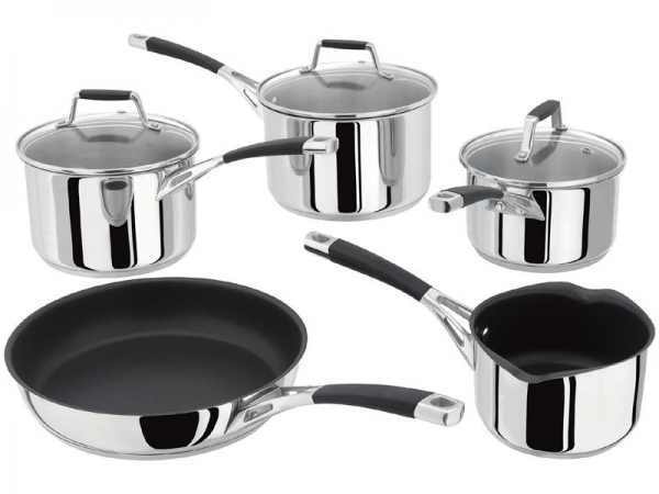 Quality Stellar Induction 5000 Stainless Steel 5 Piece Set for sale