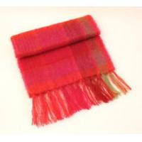 Mohair scarf 25x200 - Red, Orange 25.50