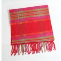 100% brushed Merino Scarf - Red 29.90 Manufactures