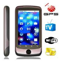 G200 phone GPS WIFI Dual sim cards Analog TV 3.5 Touch screen JAVA 2.0 Phone Manufactures