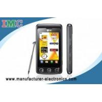 China LG Original Unlocked GSM KP500 Cookie Cell Phone with Camera Java FM on sale
