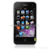 Iphone K628 3GS 3.5 Inch Capacitive Touch screen Compass WIFI Java Cell Phone Manufactures