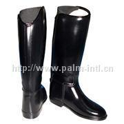 Slush PVC boots WB10-HR007,comfortable and cushioned internal lining adult