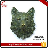 Animal Statues Wall mounted polyresin decorative artificial eagle Manufactures
