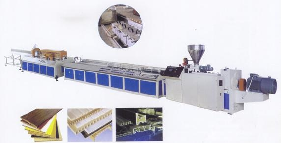 Quality PVC wood-plastics crust foaming extrusion lines for sale
