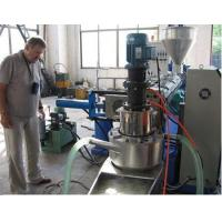 Buy cheap PE Hot Cutting Water Ring Pelletizer Unit from wholesalers