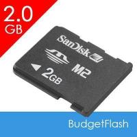China Sandisk or Sony Memory Stick M2 Card on sale