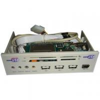 China 5.25 Multifunction Front Panel with 3 USB2.0 Ports and 5.1-Channel Sound Card on sale