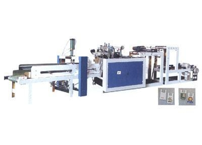 Quality RHT-600-800 hot sealing and hot cutting machine with automatic punching unit for sale