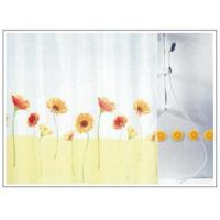 Sally Floral Fabric Shower curtain SD0006 Manufactures