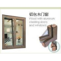 Wood with aluminum cladding doors and windows Manufactures
