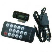 Mobile Phone Car Kit FM Transmitter Manufactures