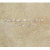 Buy cheap Stone Marble Old Cream Wall from wholesalers