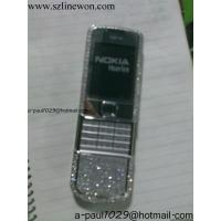 China CECT NOKIA 8800 Shine Diamond new model;(gold silver and red) on sale