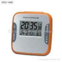China Radio Controlled Desk Clock with LCD Calendar on sale