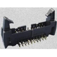 35 SERIES-8.25mm 2.54mm Box Header With Latches DIP Type(Right angle) Manufactures