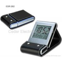 China LCD Travel Alarm Clock with Digital Calendar on sale