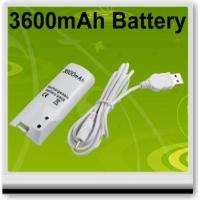 China Video Games 3600MAH RECHARGEABLE BATTERY FOR NINTENDO WII REMOTE on sale