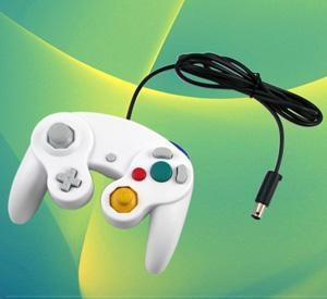 China Video Games WHITE CONTROLLER JOYPAD FOR WII & GAMECUBE GAME CUBE