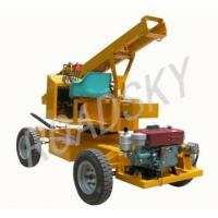 Hydraulic Pile Driver and Extractor for Guardrail Post Manufactures