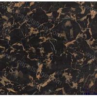 Chinese Marble ItemBlack golden flower Manufactures