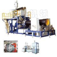Buy cheap HDPE Large-Diameter Hollowness Wall Winding Pipe Production Line from wholesalers