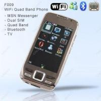 F009 Unlocked WiFi Quad Band Dual SIM Touch Screen Cell Phone with MP4, MP3, Bluetooth Manufactures