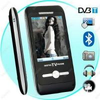 3 Inch Touch Screen DVB-T Multimedia Cellphone with Bluetooth T66 Manufactures