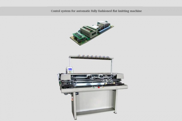 Fully Fashioned Knitting : Contol system for automatic fully fashioned flat knitting