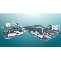 China Glass Double Straight Line Edging Machine on sale