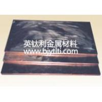 Composite Materials Series  Special clad plate seriesItem #:15414-194Model:Was Price:0/aNow Price:0/aLast update:2010.01.30Manufacturer:Baoji intelle metals Co.,Ltd.