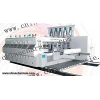 LX-608 Full computerized high speed flexo printing slotting & die cutting machine Manufactures