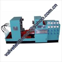 Buy cheap JWZ Valve hydraulic test bench for flanged ends valves from wholesalers