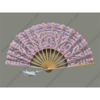China lace fans - wedding fans F212L.pink-27-th on sale