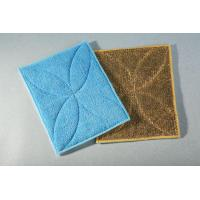 China Microfiber Products for Cleaning Microfiber Terry/Stripe PE Pad on sale