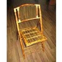 China More Wood Products Bamboo Folding Chair on sale