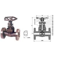 Buy cheap Gate Valve Forged steel integral flanged end valve from wholesalers
