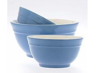 Quality Stoneware Bowls Stoneware Blue Mixing Bowls for sale