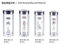 China Double layer glass series Double lay... Double layer glass series on sale